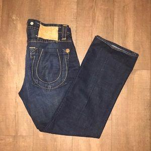 Men's True Religion dark wash jeans